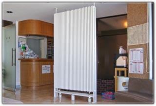 ラジエータ型放射冷暖房導入イメージ