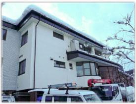 長野県飯山市B歯科クリニックの外観