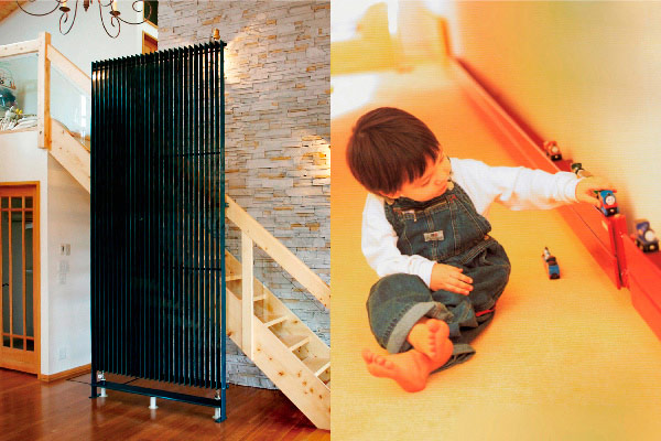 パネルヒーター(ラジエータ型放射暖房)を標準装備。上質な室内空気環境を実現するシックハウス対策、結露・ハウスダスト対策。