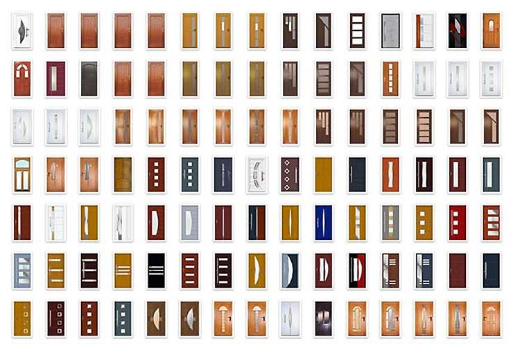 多彩なデザインバリエーション
