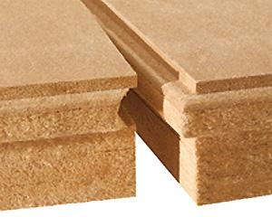 写真:木質繊維断熱材