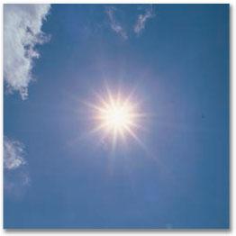 高い蓄熱性で夏の暑さから守ります